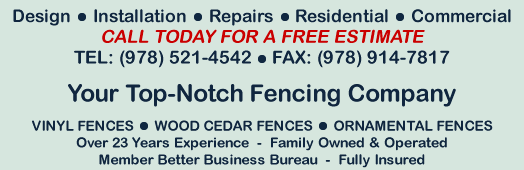 TJ's Fence - Sales, Installation, Repair, Residential, Commercial, Contractor - Haverhill, Massachusetts (MA)